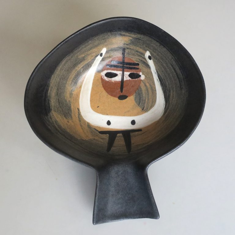 """african"" fantail bowl"