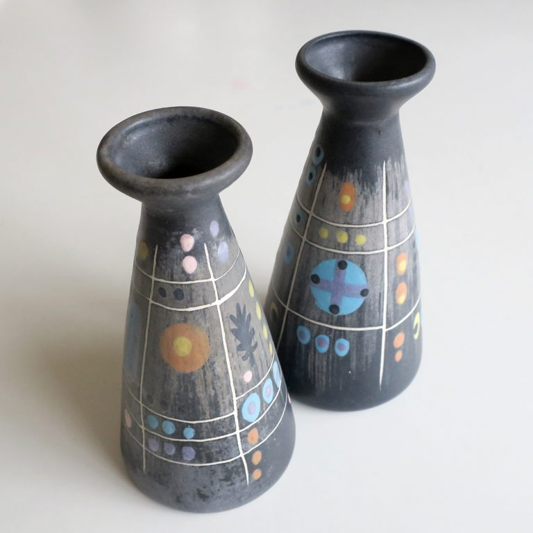 """night"" cruet & candleholder"