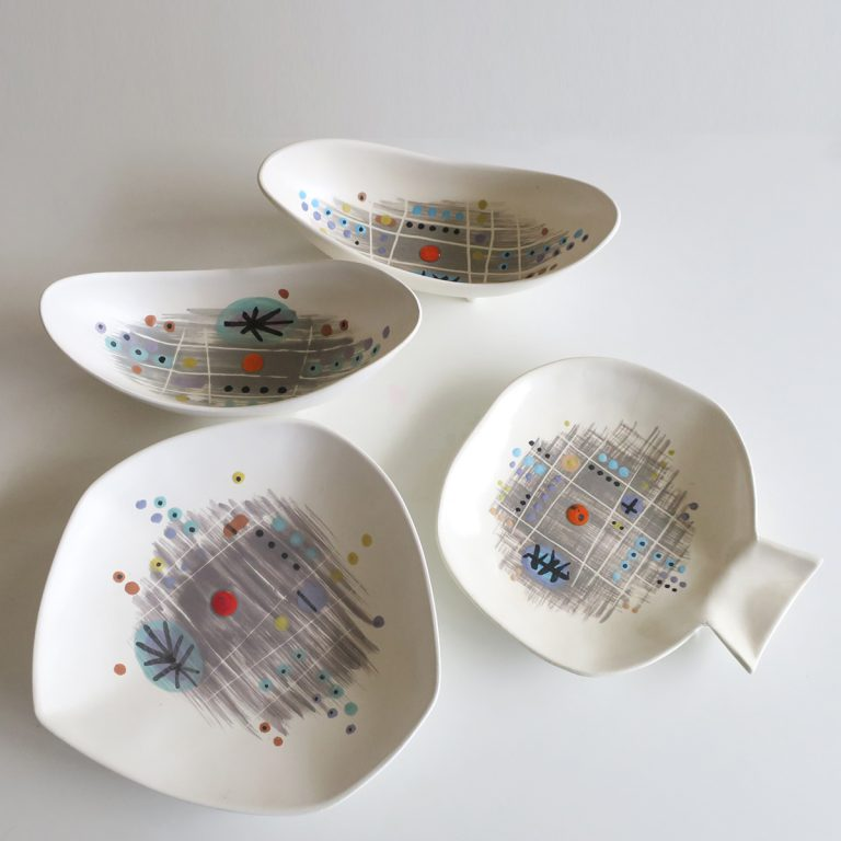 """day"" plate & bowls"