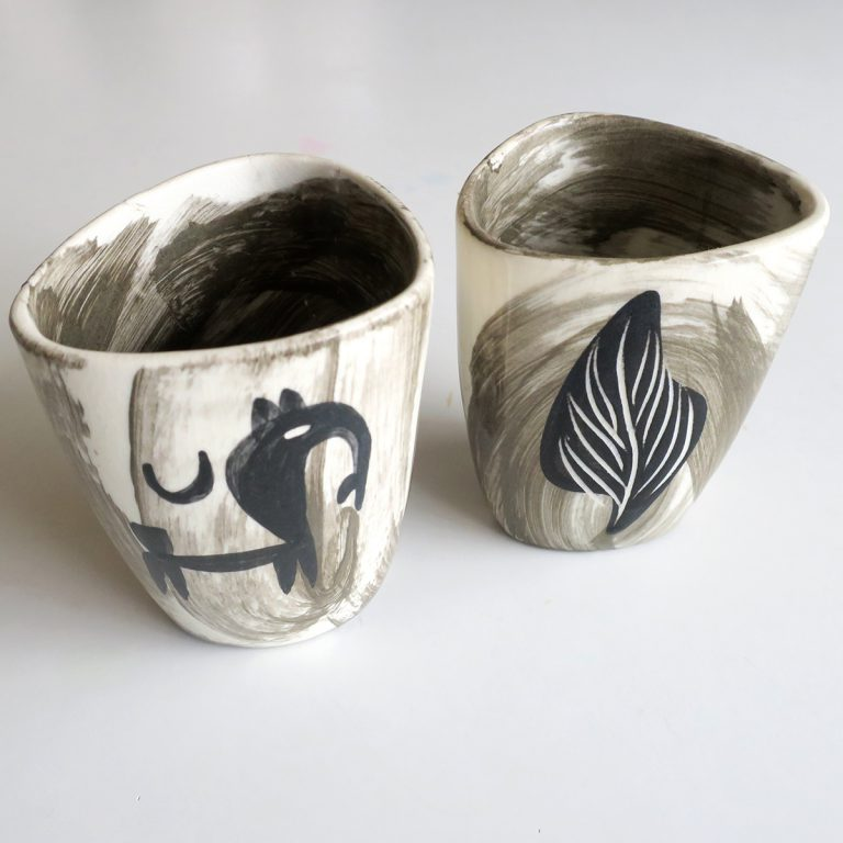 """etruscan"" tumblers"